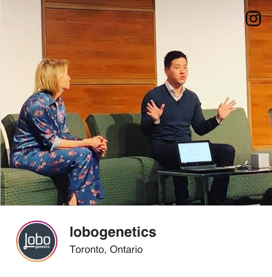 Instagram: Our CEO John Lem live on MaRS Discovery District.